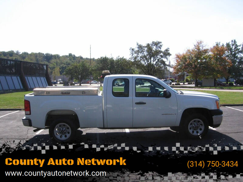 2008 GMC Sierra 1500 for sale at County Auto Network in Ballwin MO
