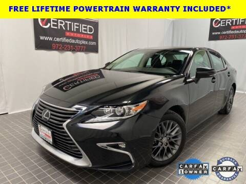 2018 Lexus ES 350 for sale at CERTIFIED AUTOPLEX INC in Dallas TX