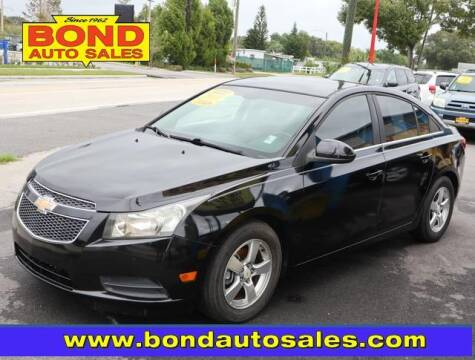 2011 Chevrolet Cruze for sale at Bond Auto Sales in St Petersburg FL