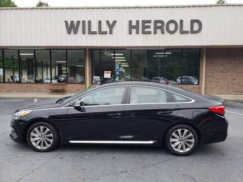 2017 Hyundai Sonata for sale at Willy Herold Automotive in Columbus GA