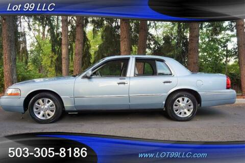 2005 Mercury Grand Marquis for sale at LOT 99 LLC in Milwaukie OR