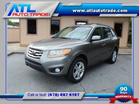 2011 Hyundai Santa Fe for sale at ATL Auto Trade, Inc. in Stone Mountain GA