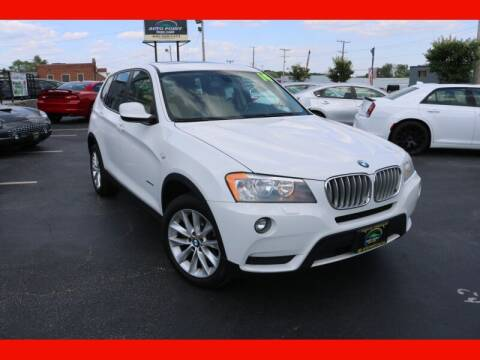 2014 BMW X3 for sale at AUTO POINT USED CARS in Rosedale MD