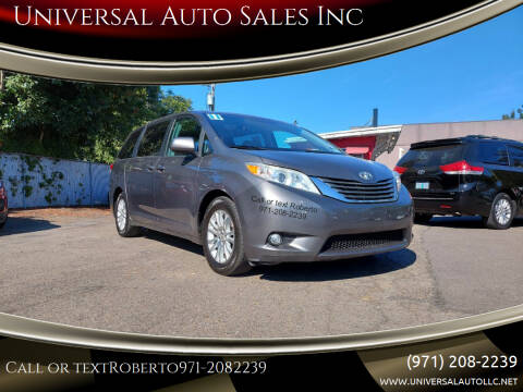 2011 Toyota Sienna for sale at Universal Auto Sales Inc in Salem OR