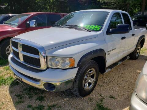 2005 Dodge Ram Pickup 1500 for sale at Northwoods Auto & Truck Sales in Machesney Park IL