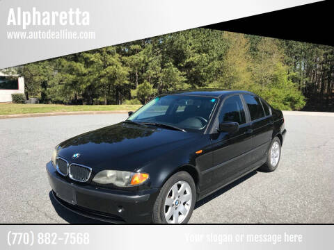 2004 BMW 3 Series for sale at Auto Deal Line in Alpharetta GA