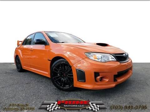 2013 Subaru Impreza for sale at PRIME MOTORS LLC in Arlington VA