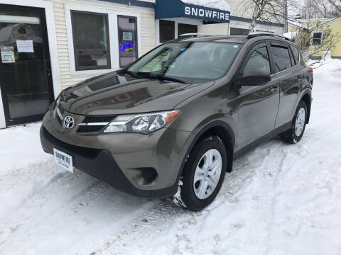 2014 Toyota RAV4 for sale at Snowfire Auto in Waterbury VT