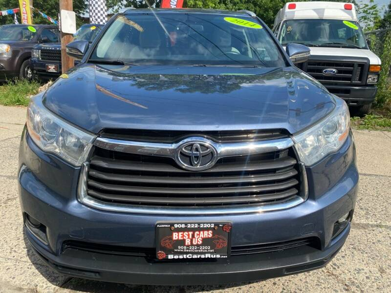 2014 Toyota Highlander for sale at Best Cars R Us in Plainfield NJ