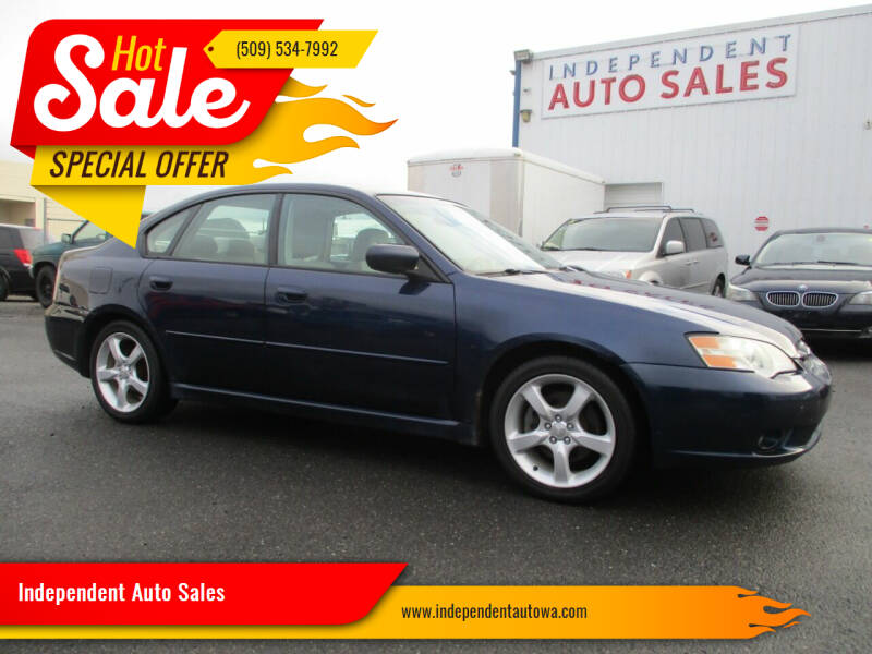 2006 Subaru Legacy for sale at Independent Auto Sales in Spokane Valley WA