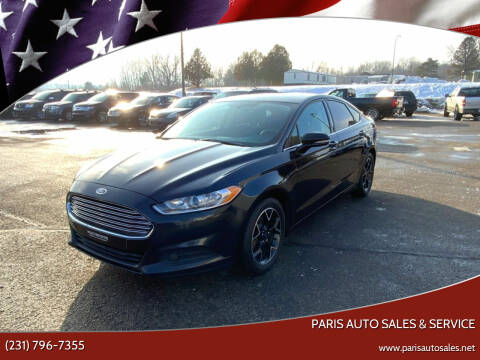 2014 Ford Fusion for sale at Paris Auto Sales & Service in Big Rapids MI