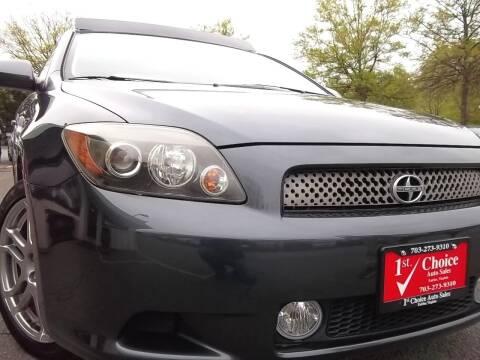 2008 Scion tC for sale at 1st Choice Auto Sales in Fairfax VA