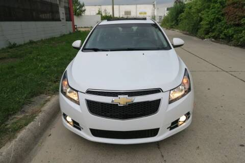 2011 Chevrolet Cruze for sale at Dymix Used Autos & Luxury Cars Inc in Detroit MI