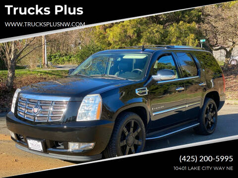 2009 Cadillac Escalade Hybrid for sale at Trucks Plus in Seattle WA