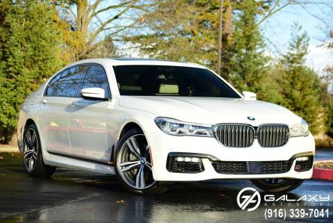 2016 BMW 7 Series for sale at Galaxy Autosport in Sacramento CA