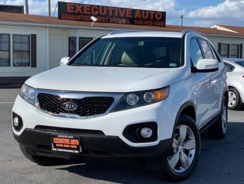 2013 Kia Sorento for sale at Executive Auto in Winchester VA