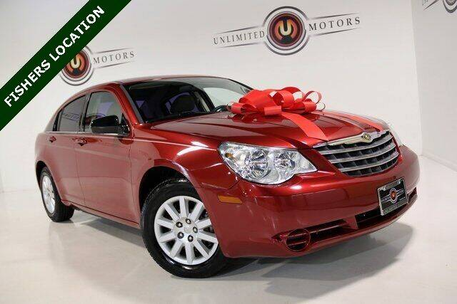 2008 Chrysler Sebring for sale at Unlimited Motors in Fishers IN