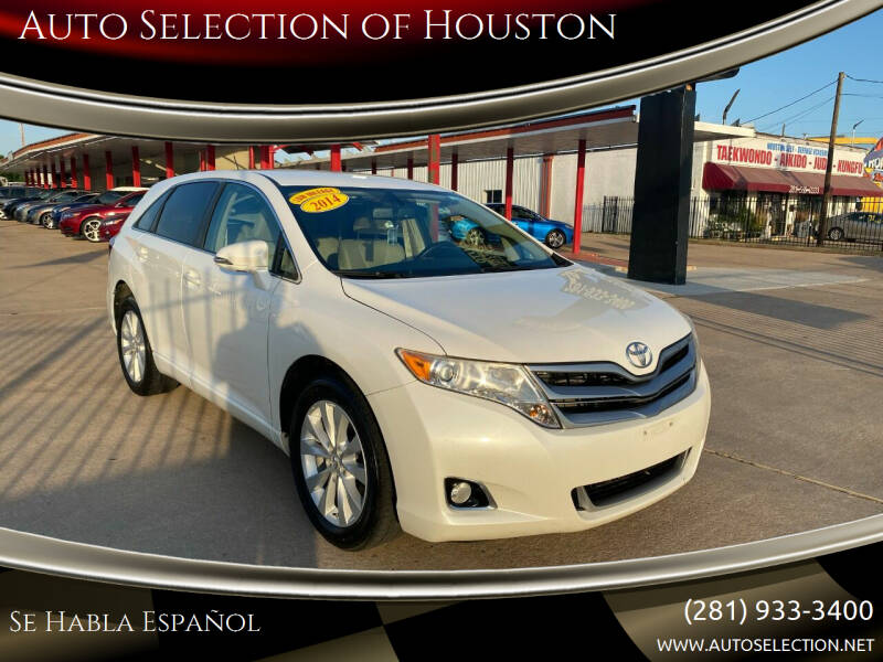 2014 Toyota Venza for sale in Houston, TX