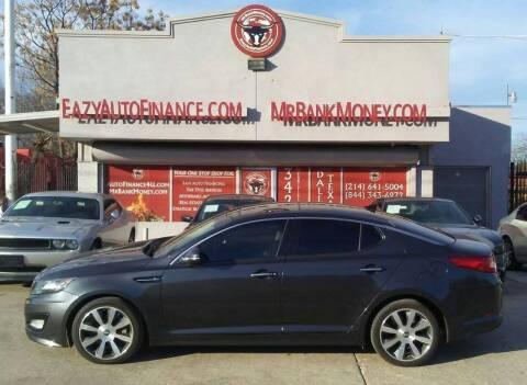 2011 Kia Optima for sale at Eazy Auto Finance in Dallas TX