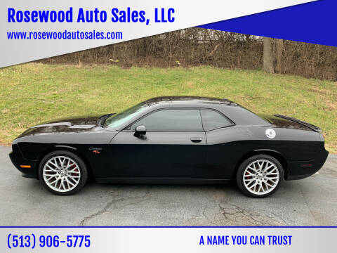 2012 Dodge Challenger for sale at Rosewood Auto Sales, LLC in Hamilton OH