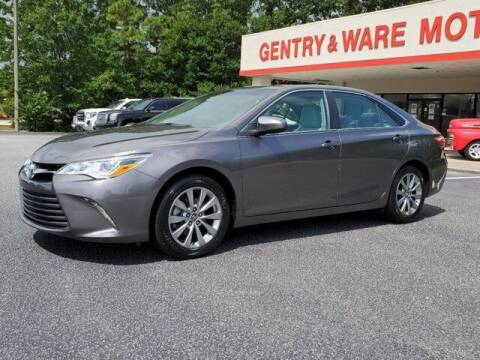 2017 Toyota Camry for sale at Gentry & Ware Motor Co. in Opelika AL