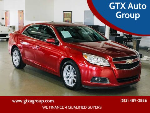 2013 Chevrolet Malibu for sale at GTX Auto Group in West Chester OH