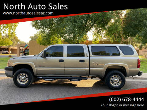2003 Chevrolet Silverado 2500HD for sale at North Auto Sales in Phoenix AZ