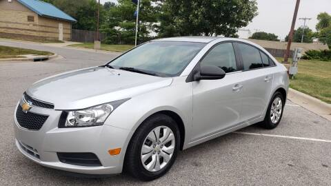 2014 Chevrolet Cruze for sale at Nationwide Auto in Merriam KS