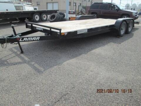 2018 LAMAR 20 FT TRAILER for sale at Auto Acres in Billings MT
