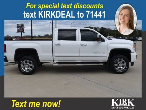 2015 GMC Sierra 2500HD for sale at Kirk Brothers Batesville in Batesville MS