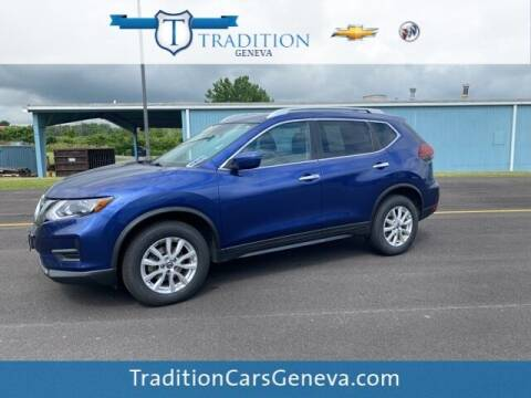 2018 Nissan Rogue for sale at Tradition Chevrolet Buick in Geneva NY