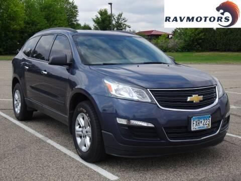 2013 Chevrolet Traverse for sale at RAVMOTORS in Burnsville MN