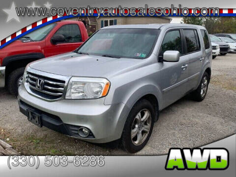 2012 Honda Pilot for sale at Coventry Auto Sales in Youngstown OH