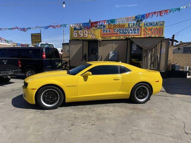 2013 Chevrolet Camaro for sale at DEL CORONADO MOTORS in Phoenix AZ