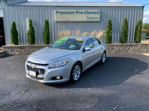 2016 Chevrolet Malibu Limited for sale at PREMIUM PRE-OWNED AUTOS in East Peoria IL