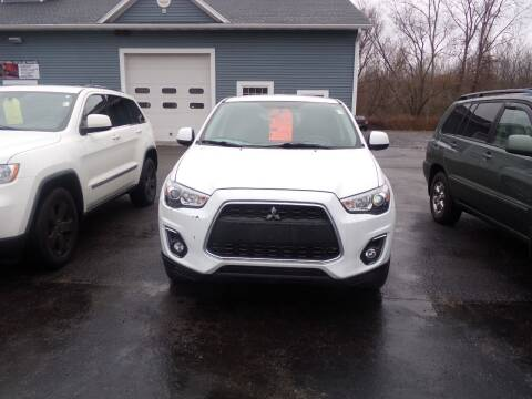 2015 Mitsubishi Outlander Sport for sale at Pool Auto Sales Inc in Spencerport NY