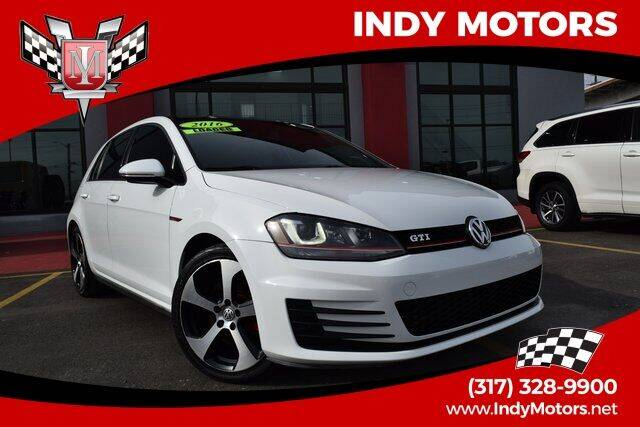 2016 Volkswagen Golf GTI for sale at Indy Motors Inc in Indianapolis IN