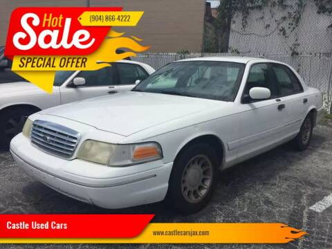 2001 Ford Crown Victoria for sale at Castle Used Cars in Jacksonville FL