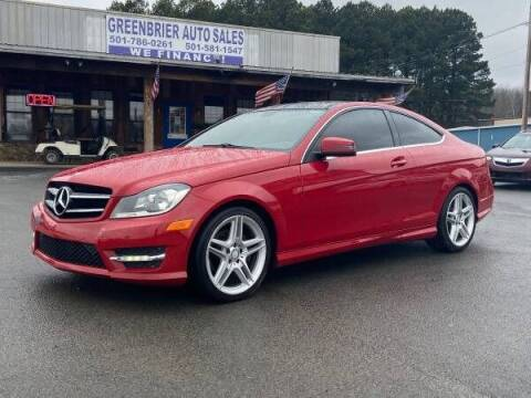 2014 Mercedes-Benz C-Class for sale at Greenbrier Auto Sales in Greenbrier AR