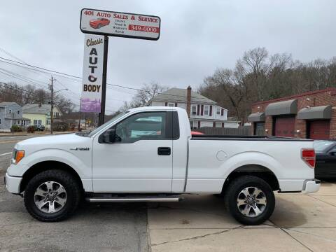 2014 Ford F-150 for sale at 401 Auto Sales & Service in Smithfield RI