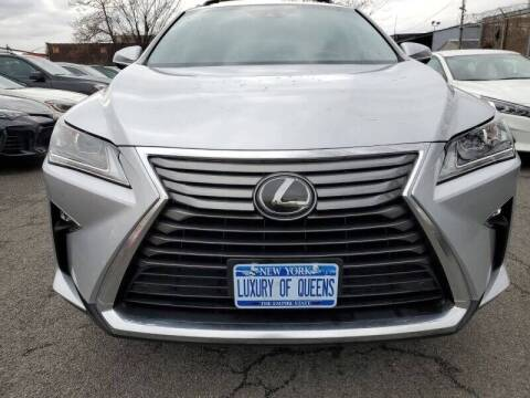 2019 Lexus RX 350 for sale at LUXURY OF QUEENS,INC in Long Island City NY