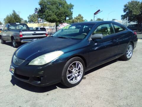 2004 Toyota Camry Solara for sale at Larry's Auto Sales Inc. in Fresno CA