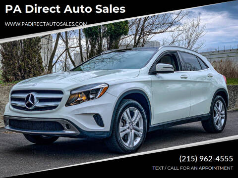 2017 Mercedes-Benz GLA for sale at PA Direct Auto Sales in Levittown PA