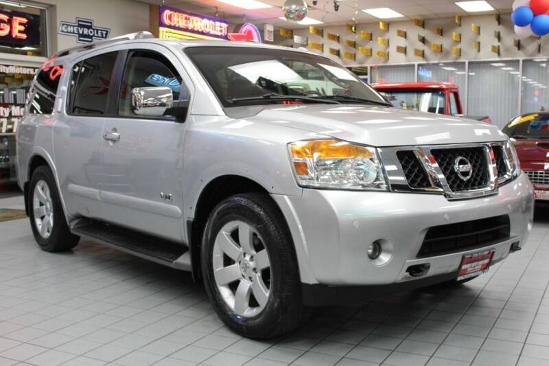 2008 Nissan Armada for sale at Windy City Motors in Chicago IL