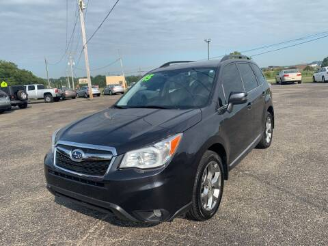 2015 Subaru Forester for sale at Carmans Used Cars & Trucks in Jackson OH