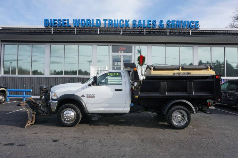2017 RAM Ram Chassis 5500 for sale at Diesel World Truck Sales - Dump Truck in Plaistow NH