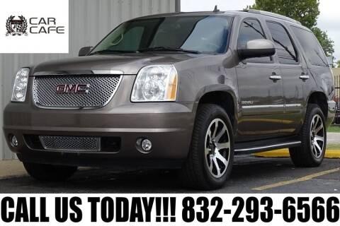 2011 GMC Yukon for sale at CAR CAFE LLC in Houston TX