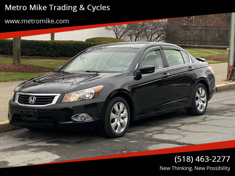 2008 Honda Accord for sale at Metro Mike Trading & Cycles in Albany NY