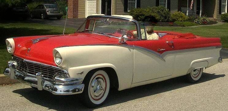 1956 Ford Fairlane for sale at Black Tie Classics in Stratford NJ