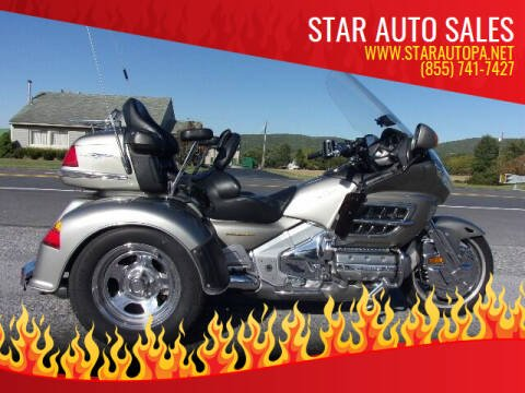 2003 Honda Goldwing for sale at Star Auto Sales in Fayetteville PA